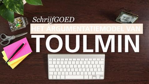 Thumbnail for entry Schrijfgoed : Toulmin