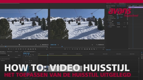 How to: Video huisstijl