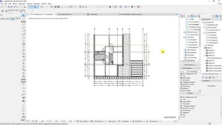 Thumbnail for channel AB&I Tekenen en Modelleren.  Archicad