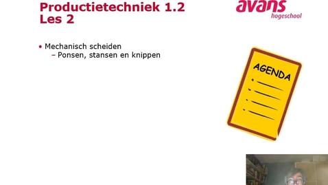 Thumbnail for entry Productietechniek 1.2 Les 2 Scheiden nietversp_2019