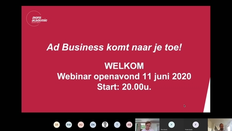 Thumbnail for entry Business - Associate degree-Voltijd-Den Bosch