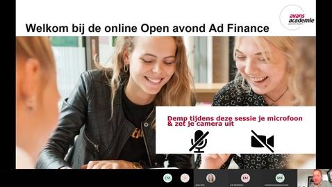 Thumbnail for entry Finance - Associate degree - Voltijd - Den Bosch