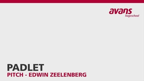 Thumbnail for entry Padlet - Edwin Zeelenberg