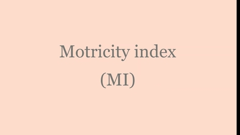 Thumbnail for entry Motricity index blur