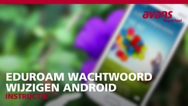 Thumbnail for entry Eduroam wachtwoord opnieuw instellen Android