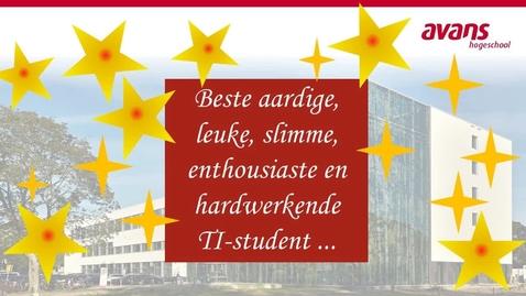 Thumbnail for entry Kerstboodschap TI-studenten