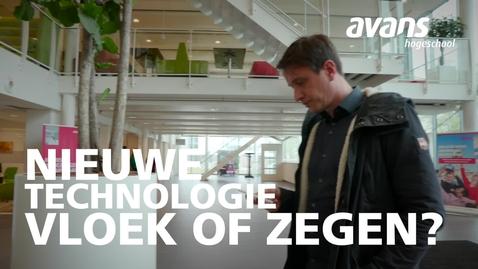 Thumbnail for entry Nieuwe technologie: vloek of zegen?