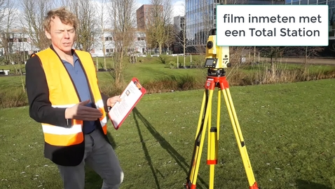 Thumbnail for entry CT BI_GBON Gebiedsontwikkeling inmeten met de total station