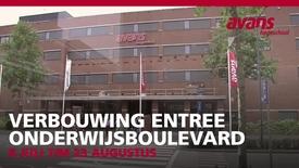 Thumbnail for entry Verbouwing Entree Onderwijsboulevard