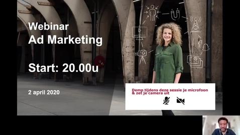 Thumbnail for entry Marketing management- Associate degrees - Voltijd -  Den Bosch