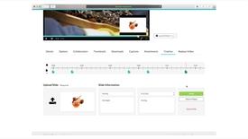 Thumbnail for entry Mymedia - Hoofdstukken en presentatie slides toevoegen