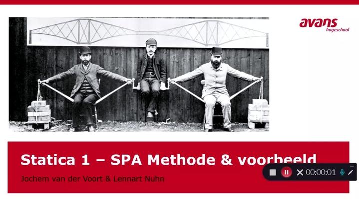 Thumbnail for channel Statica 1 - WTB Avans Breda