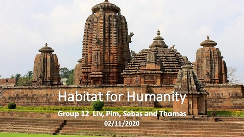 Thumbnail for entry Building back safer housing in Odisha (India) with Habitat for Humanity