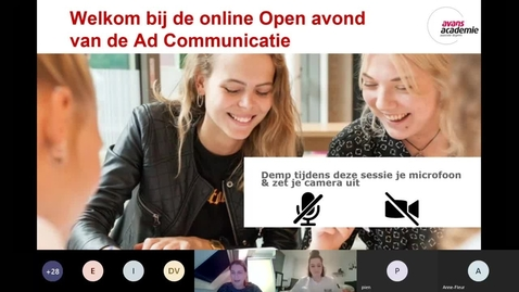 Thumbnail for entry Communicatie-Associate degree-Voltijd-Den Bosch