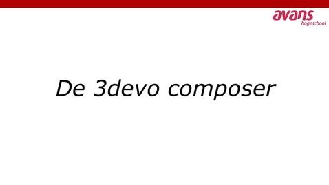 Thumbnail for entry 3devo Composer