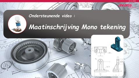 Thumbnail for entry Ondersteunende video maatinschrijving Mono tekening