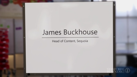 Thumbnail for entry Guest: James Buckhouse