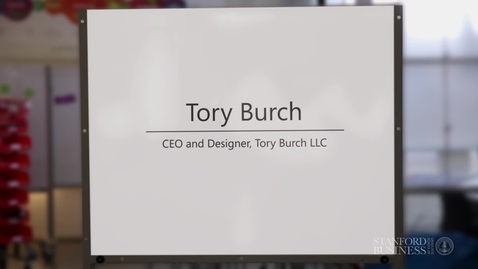 Thumbnail for entry Guest: Tory Burch