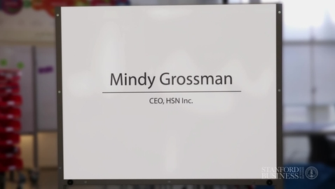 Thumbnail for entry Guest: Mindy Grossman