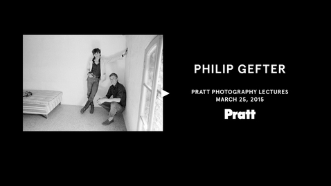 Thumbnail for entry Philip Gefter