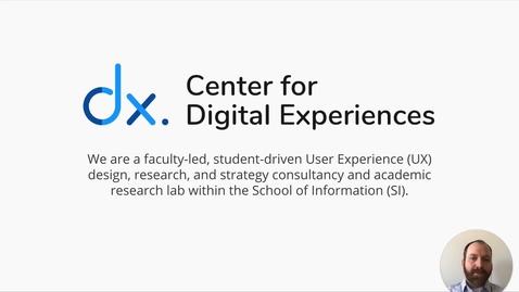 Thumbnail for entry Center for Digital Experiences - Pratt ROH 2020