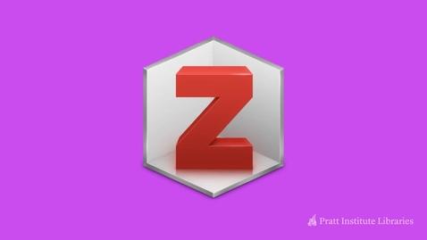 Thumbnail for entry Intro to Zotero
