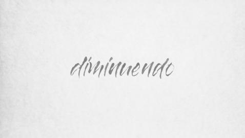 Thumbnail for entry DIMINUENDO - Henrike Lendowski 2020