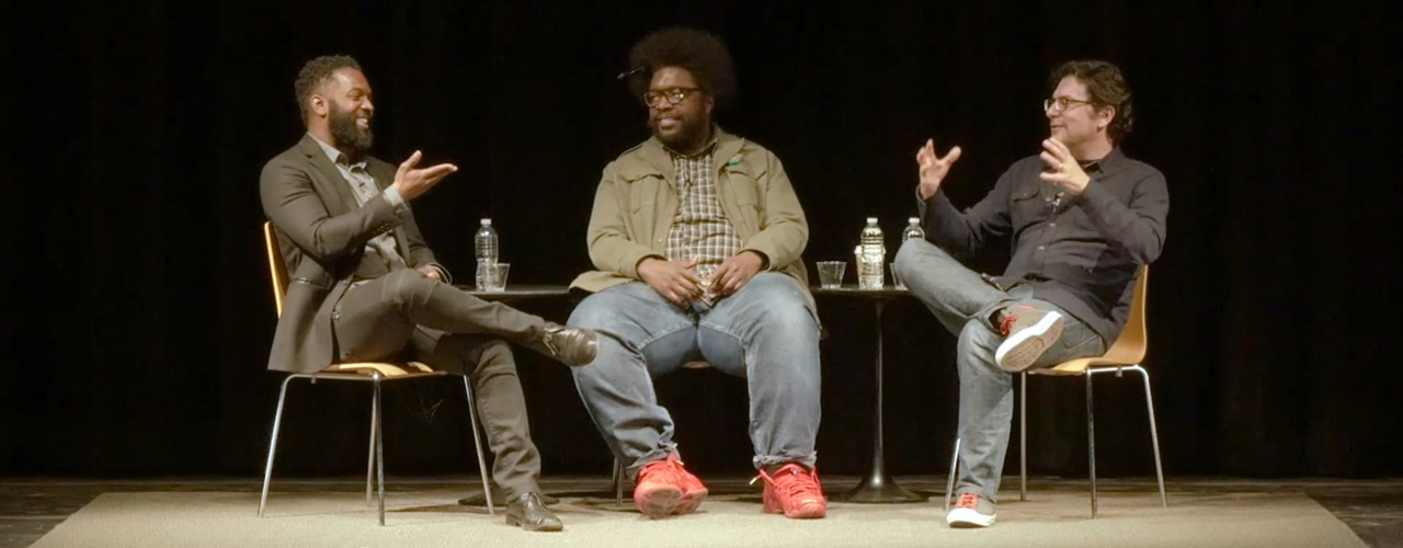 Questlove and Baratunde Thurston