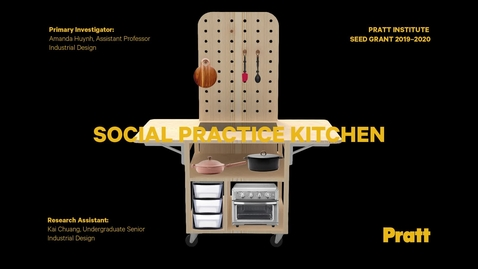 Thumbnail for entry Research Open House 2020 — Social Practice Kitchen