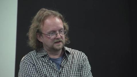 Thumbnail for entry Peter Snowdon - Film/Video Visiting Artist