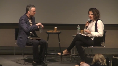 Thumbnail for entry Placemaking the Displaced Q&A - Sean Anderson with Saba Jaberolansar