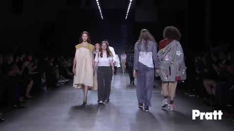 Thumbnail for entry Pratt Fashion Runway Show 2018