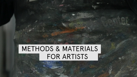 Thumbnail for entry Methods and Materials for Artists