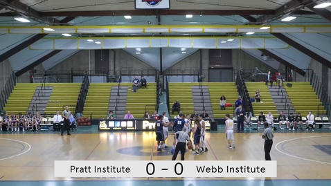 Thumbnail for entry Men's Basketball vs Webb Institute