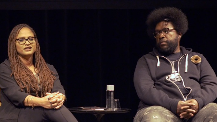 Ava Duvernay and Questlove