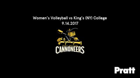 Thumbnail for entry Women's Volleyball vs King's College