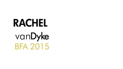 Thumbnail for entry Rachel vanDyke The Writing Program BFA 2015
