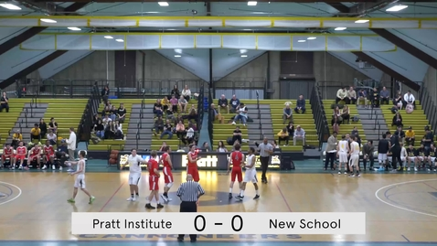 Thumbnail for entry Men's Basketball vs New School