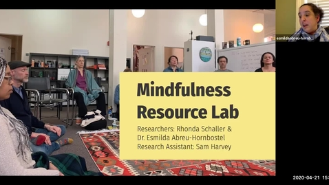 Thumbnail for entry Mindfulness Resource Lab