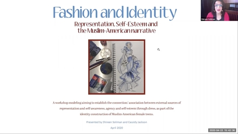 Thumbnail for entry Fashion and Identity: Representation, Self-Esteem, and the Muslim-American Narrative