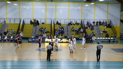 Thumbnail for entry Men's Basketball vs  Albany College of Pharmacy and Health Sciences