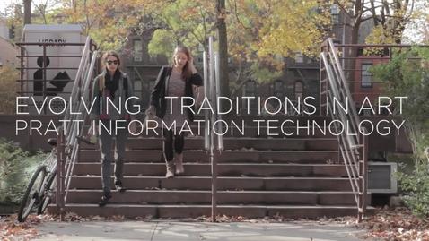Thumbnail for entry Evolving Traditions in Art, Pratt Information Technology