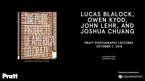 Thumbnail for entry Lucas Blalock, Owen Kydd, John Lehr, Joshua Chuang