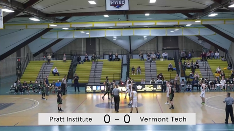 Thumbnail for entry Men's Basketball vs Vermont Tech
