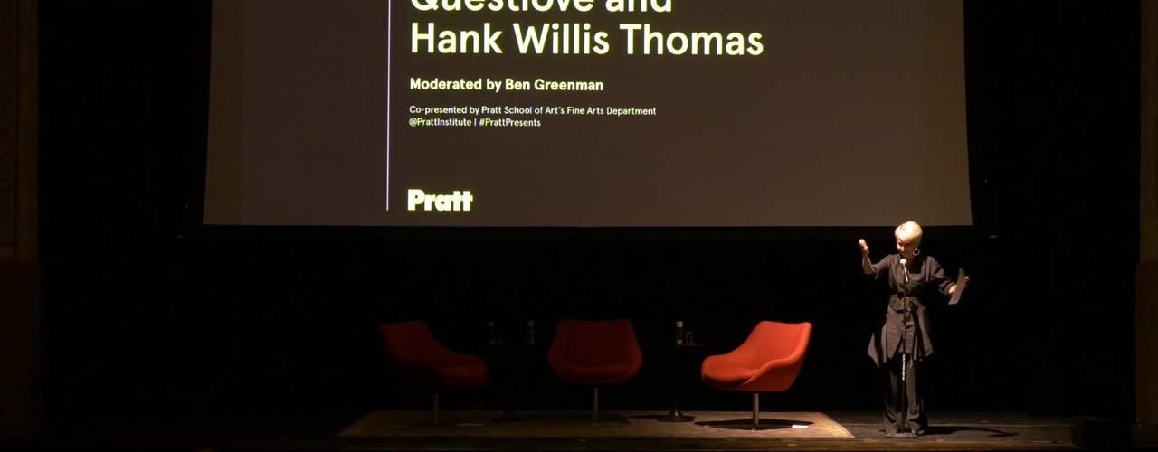 Questlove and Hank Willis Thomas