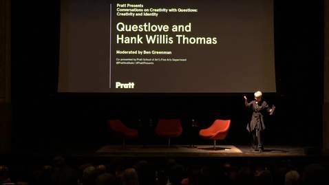 Thumbnail for entry Questlove and Hank Willis Thomas