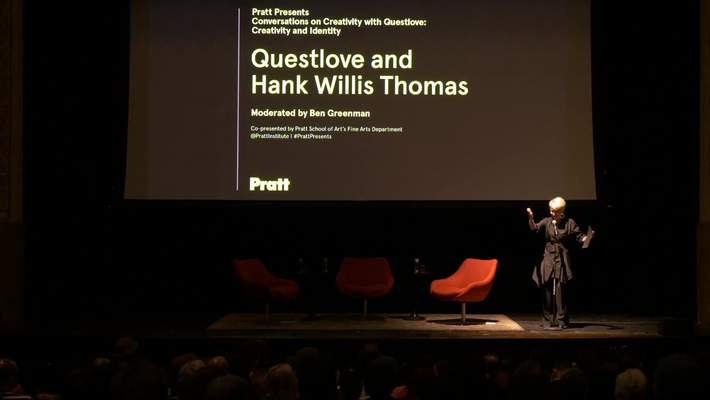 Questlove and Hank Willis Thomas