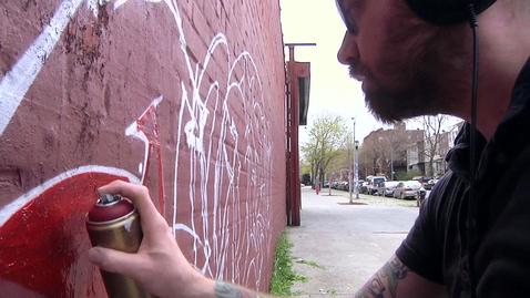 Thumbnail for entry Graffitti, Anthony Acock