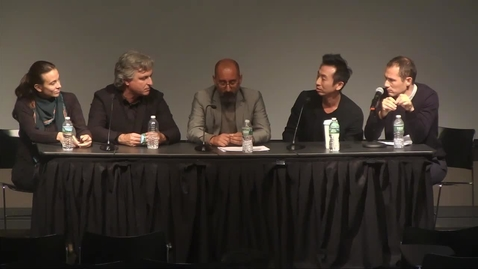 Thumbnail for entry Debora Mesa, Antón García-Abril, Joshua Bolchover, and John Lin GAUD Pratt Sessions 04