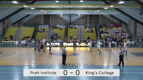 Thumbnail for entry Men's Basketball vs King's College